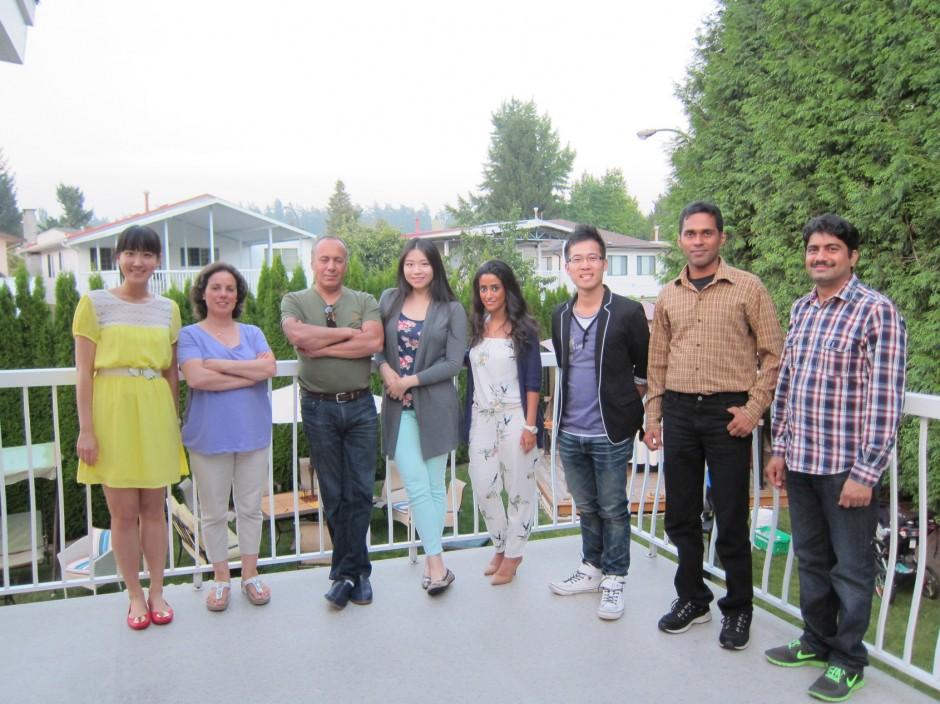 From left to right: Angela, Amina, Zakaria, Alice, Abrar, Alex, Sunil, Vijender